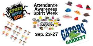 Attendance Awareness Spirit Week