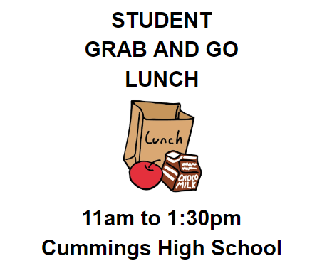 STUDENT GRAB AND GO LUNCHES