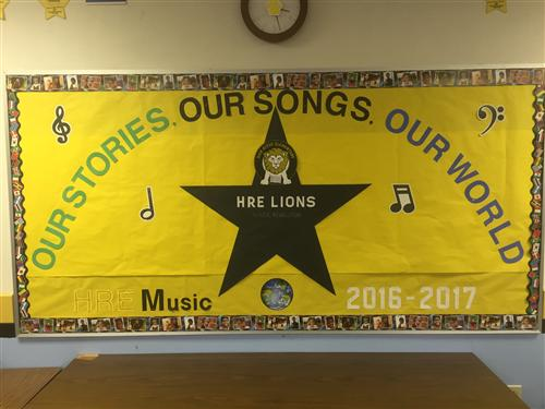 2016-2017 SY Music Class Theme