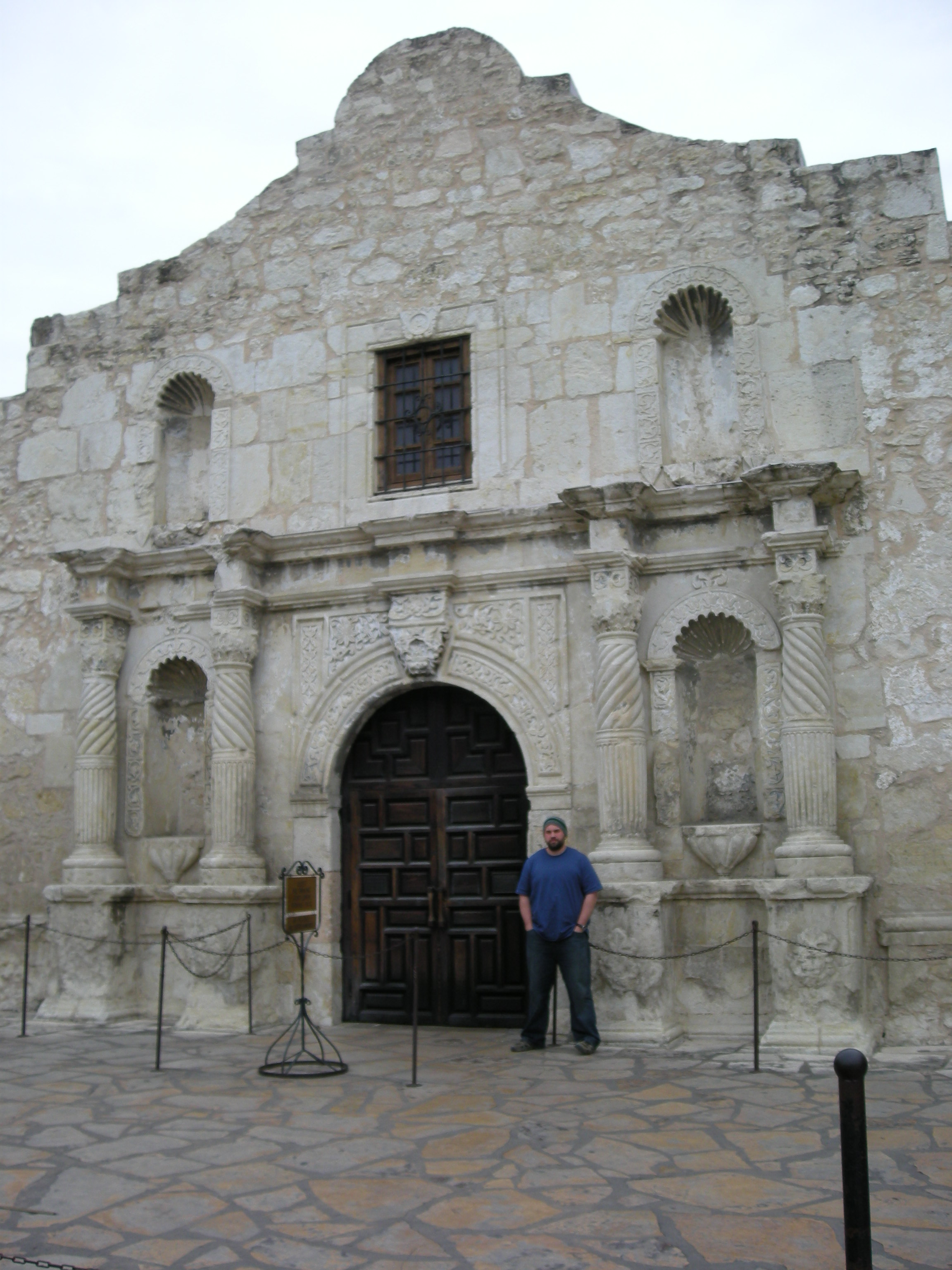 """Remember the Alamo...and your homework"""