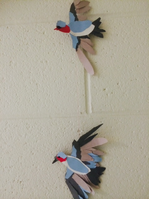 Bird Relief Sculptures