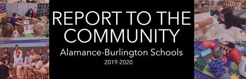 Report to the Community 2019-2020