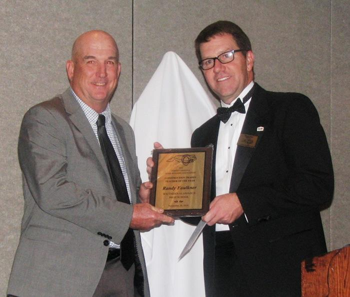 Southern High's Faulkner named the 2016 NC Construction Trades Teacher of the Year