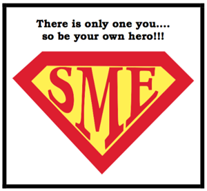 SME Logo Be Your Own Hero