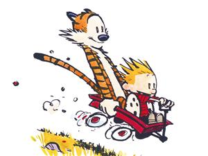 Calvin and Hobbes by Bill Waterson