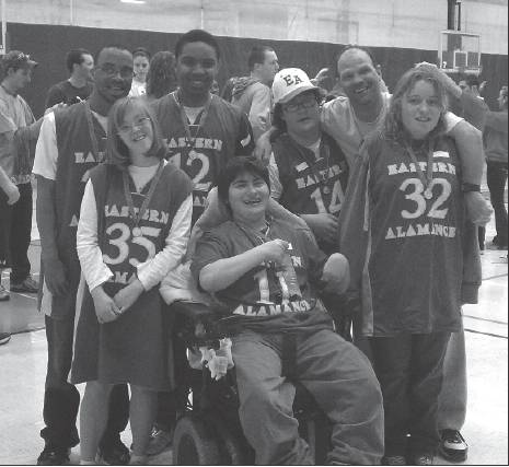 The Eastern Alamance Eagles took home the gold at the February Special Olympics basketball tournament held at Fairchild Park.