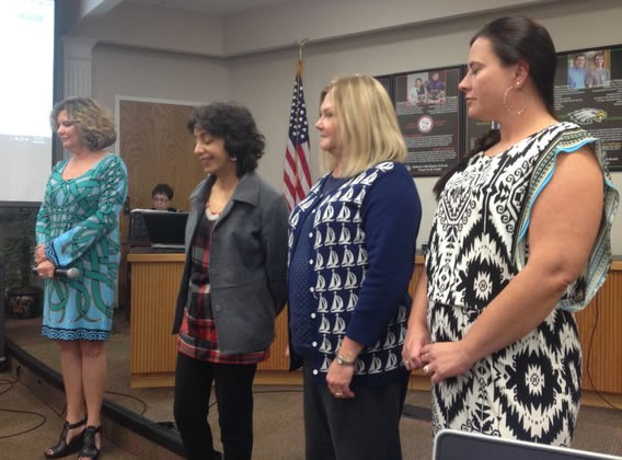 Graham Middle School's Norma Thompson is the 2015-16 Alamance-Burlington school counselor of the year, Woodlawn Middle and Pleasant Grove Elementary schools' Connie Deming is the 2015-16 Alamance-Burlington school nurse of the year, and Grove Park Elementary's Amber Doby is the 2015-16 Alamance-Burlington school social worker of the year.