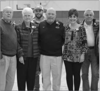 On Sunday, Oct. 18, the Eastern Alamance Moms and Eastern Alamance Sports Foundation held an event celebrating Coach John Kirby's 200th win at the Eastern Alamance High School Auditorium. Guests were asked to bring at least a $2 donation that was dedicated in Kirby's honor to the Field House Campaign.