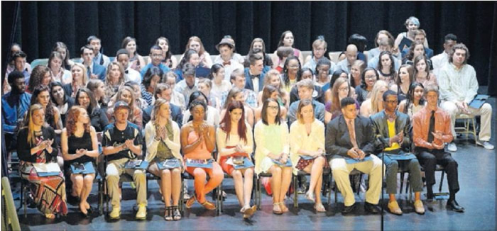 The 2016 Alamance Awards for Excellence recognized Alamance County's outstanding high school seniors at the Paramount Theater in Burlington Wednesday evening. Go to www.thetimesnews.com for a photo gallery from the event.