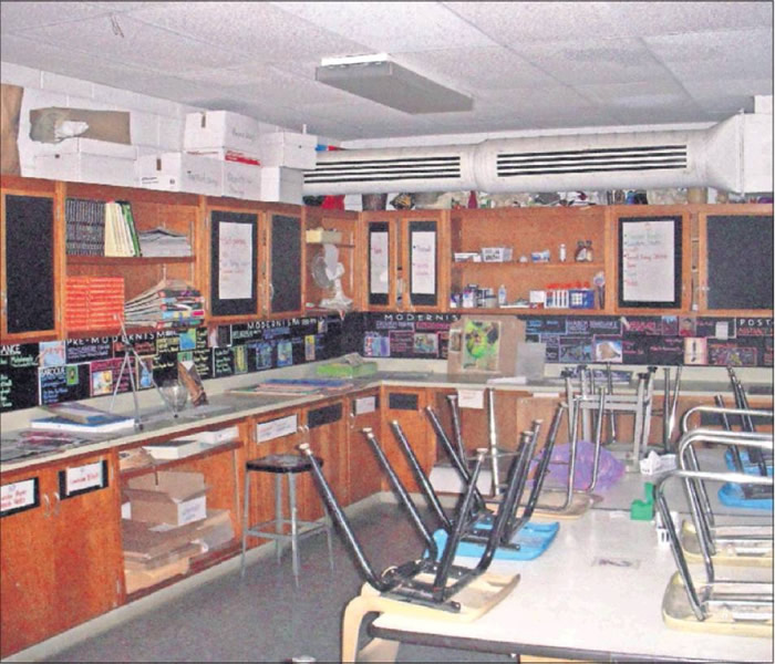 Some bond funds are earmarked for classroom renovations at Graham High School.