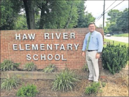 Curry Bryan comes to Haw River Elementary School after 20 years with the Alamance-Burlington School System, 14 of which were teaching social studies at Williams High School.