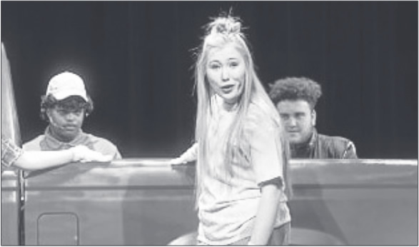 "Segars was selected to appear in this spring's DPAC Rising Stars Program as a result of her oustanding performance as Kelli Mangrum in Eastern Alamance High's production of ""Hands on a Hardbody."" This was Segars' third Rising Stars selection."