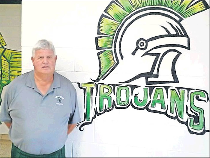 Teacher and coach Ron Davis has been a fixture for almost four decades at Turrentine Middle School in Burlington.