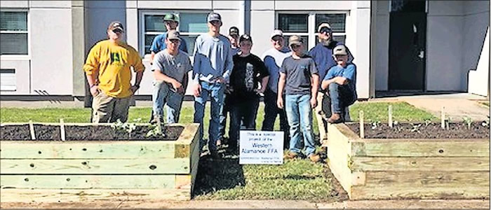 Western Alamance High School students have been fighting food insecurity and the lack of access to fresh vegetables among the elderly and disabled in the community.