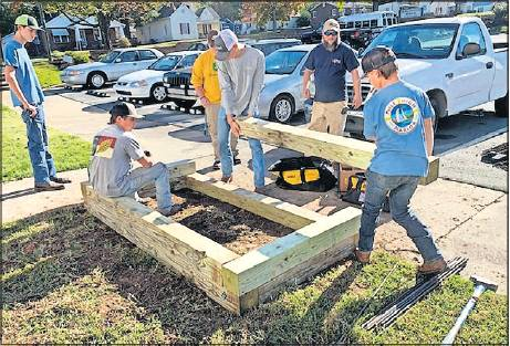 Most of the residents there live below the federal poverty level and struggle to get fresh vegetables, Western's FFA said. The beds are high enough for residents in wheelchairs to participate. Burlington Homes now has 21 residents in its gardening club.