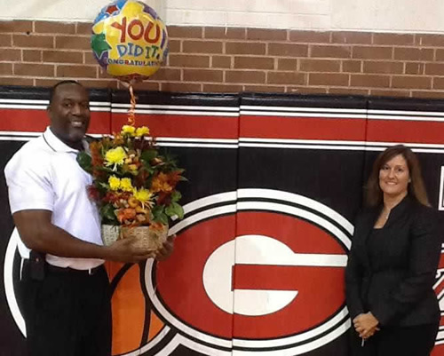 Congratulations to Daniel Camp, assistant principal at Graham High, who was named the 2013 Alamance-Burlington Assistant Principal of the Year.